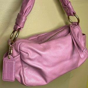 Coach Parker 13442 Lavender Leather Shoulder Bag